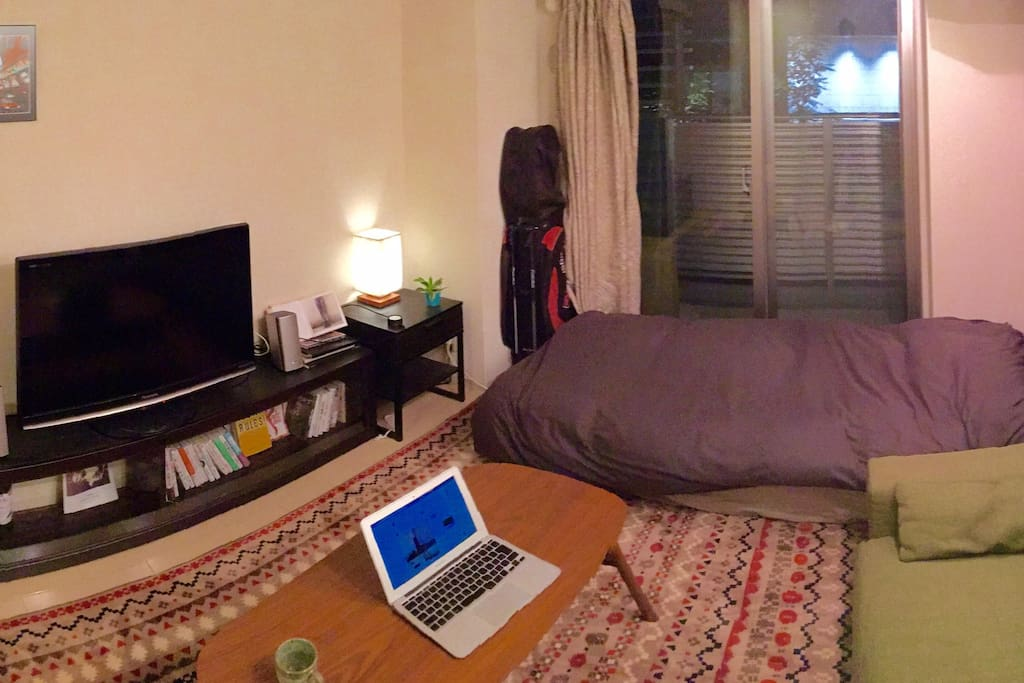 Comfortable and clean Room. one bed one sofa one table