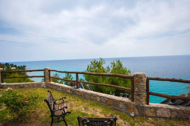 Andy's Place Amazing Sea View Villa, Posidi