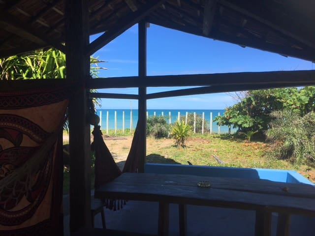 Caraíva - Chalé pé na areia de frente pro Mar. - Caraíva - Alpehytte