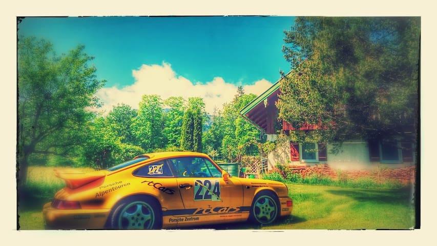 2 Zi/Kü/Bad Bergblick 2-4 Pers Wohnung ggf Porsche - Lenggries