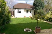 Self-contained, modern, detached guest house
