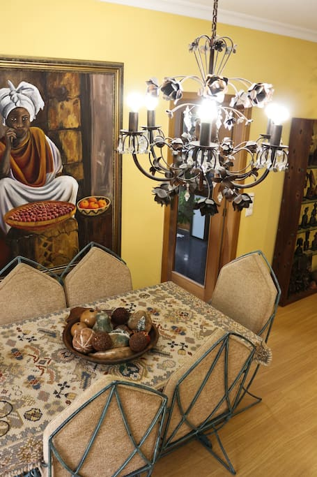 Living room dining table