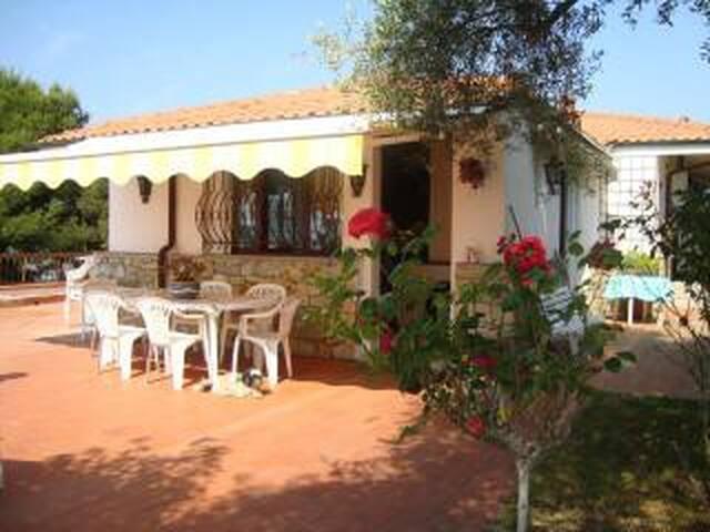 veranda esterna e ingresso
