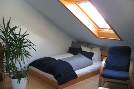 naturnahe, helle Wohnung - vielseitig nutzbar - Aglasterhausen