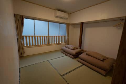 Room for up to 2 people〝Omusubi〟【 Hostel SANKAKU】