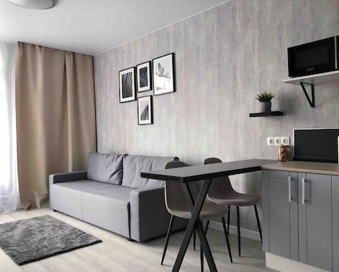 Современные Апартаменты на Притомском