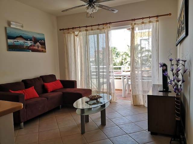Big 2 Rooms Apt-3min beach -WIFI- ARCO IRIS HOUSES