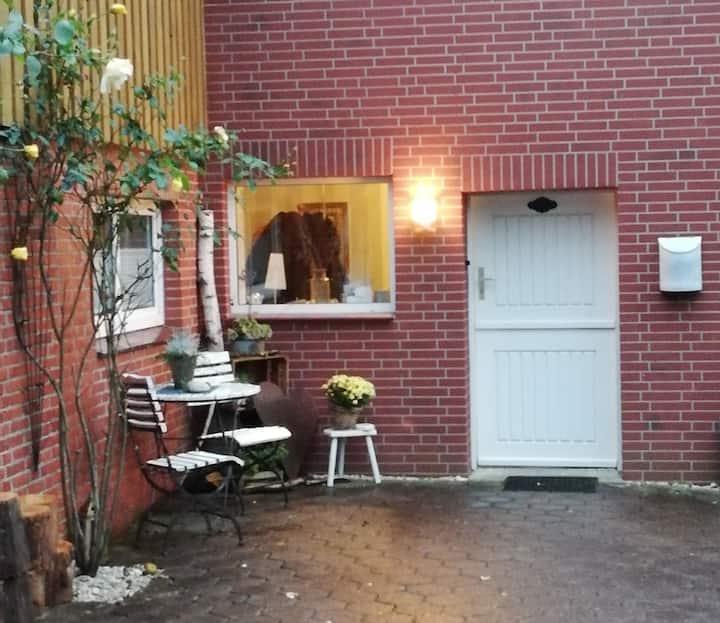 Gemütliche Wohnung in der Nähe der Elbe