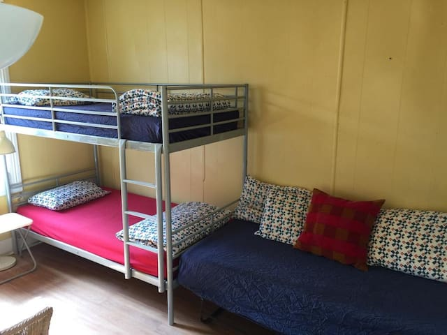 Need a bed? Central location. Shared 3 bed room.