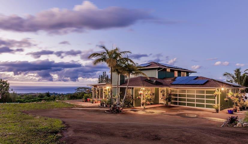 マウイ島で日本人経営のファームB&B、ヴィーガン朝食。自然と寄り添う癒しの宿。