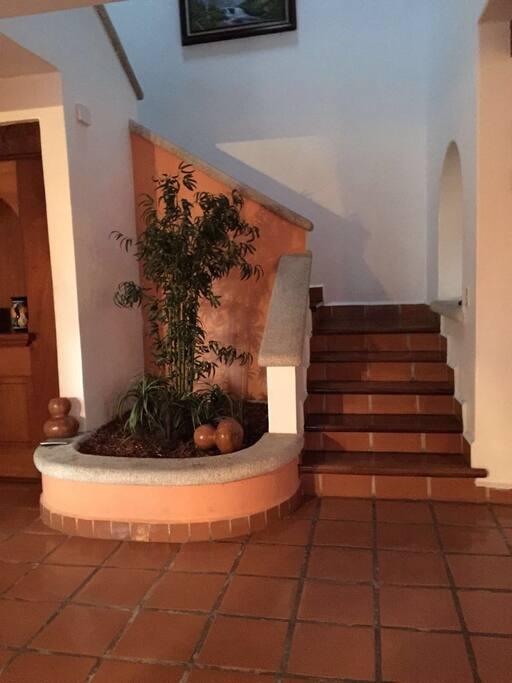 Pasillo de escaleras