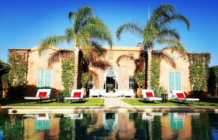 Luxueuse Villa Jardin privé Piscine sans vis à vis