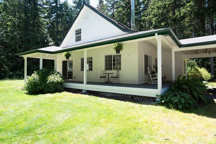 Secluded Modern Farmhouse estate