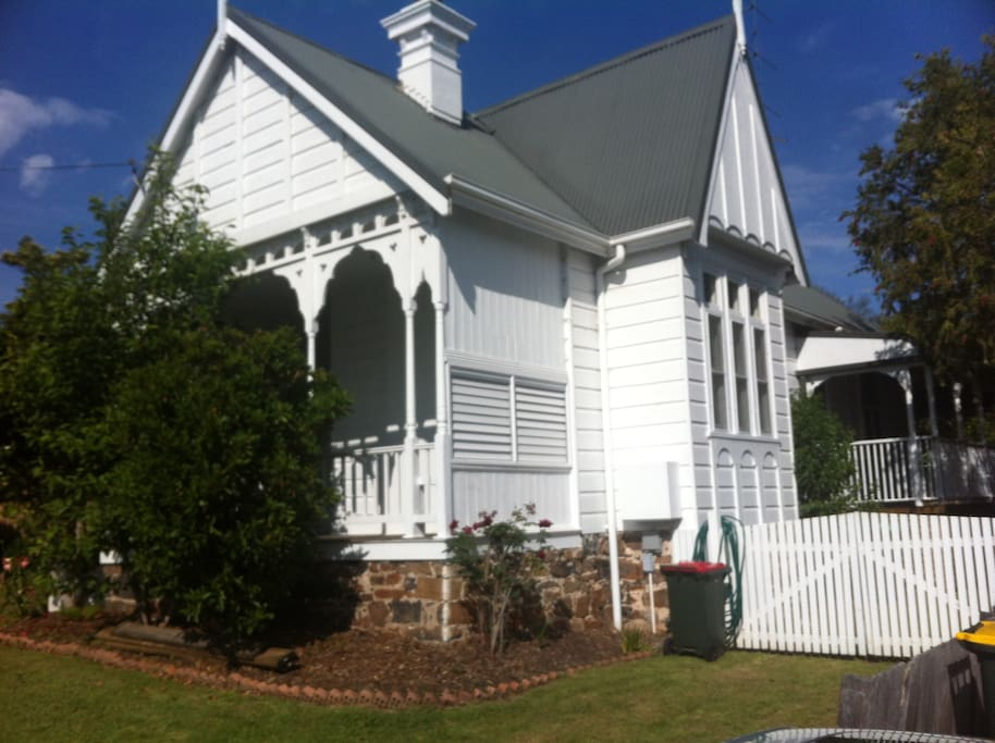 A fantastic example of a Victorian home