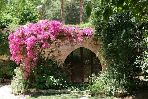 Anexo de jardinagem isolada