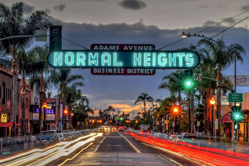 Located in exciting Adams Avenue corridor. Walk everywhere!