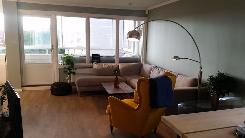 Beautiful 2 bedroom apartment with a sweet balcony