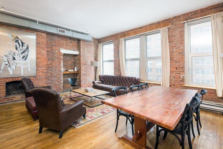 4 Bedroom/ 2 Bath 3000 sq ft Loft Union Square - New York - Apartmen