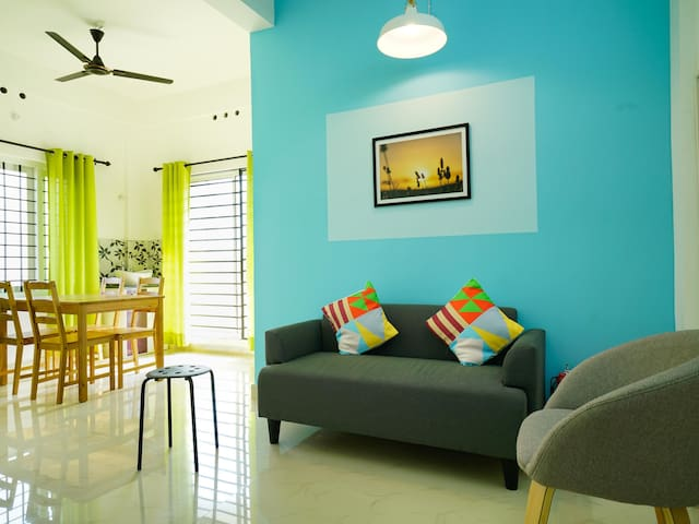 OYO - Best Offer! Deluxe 1BR Stay in Auroville, Pondicherry