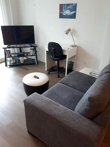 New Sofa, Smart HDTV and Wifi