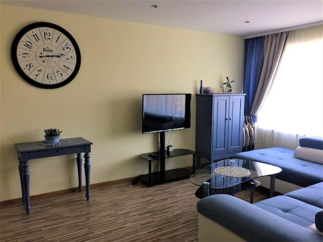 Blue&White apartment