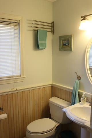 Hallway bathroom for your private use