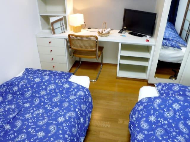 Near DazaifuTenmangu! 2sbed, 2Bicycle, Free WiFi! - Dazaifu - Apartment