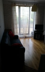 Beautiful flat, independent, with bathroom&kitchen - Warszawa - Bed & Breakfast