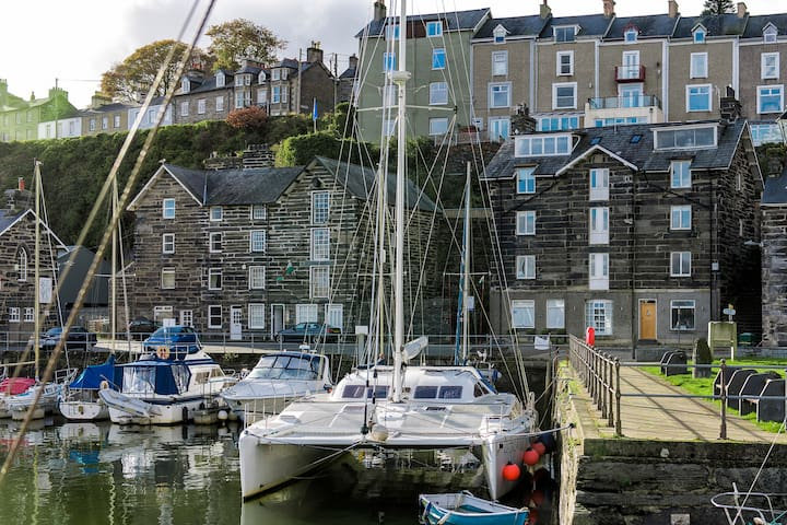 Luxury Harbour Suite with Sea View - Porthmadog - Apartment