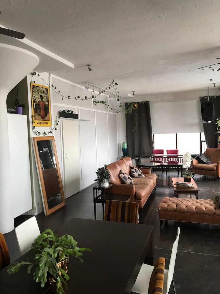 Amazing bright and well located unique  loft