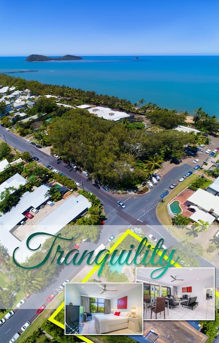 A stone's throw from beautiful Palm Cove beach