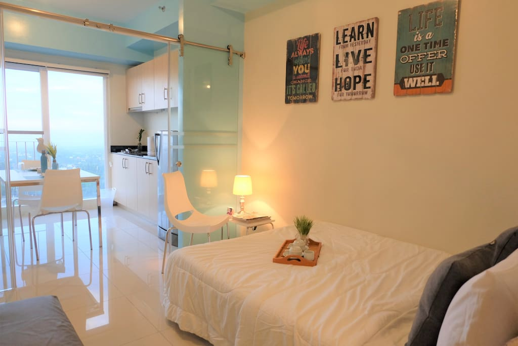 Our units are already fully furnished so you don't have to worry about anything
