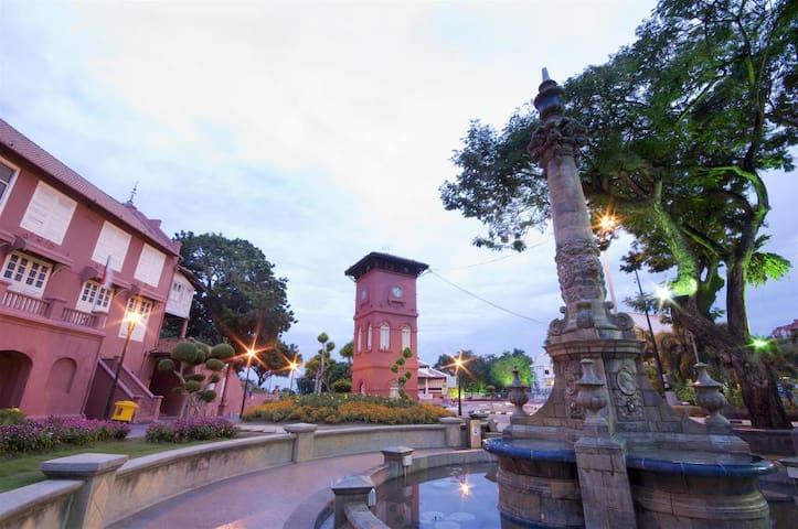 Melaka history Red House 马六甲历史红屋超漂亮
