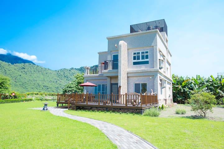 王家小宿Wang's house_包棟住宿12人 - Shoufeng Township - Haus