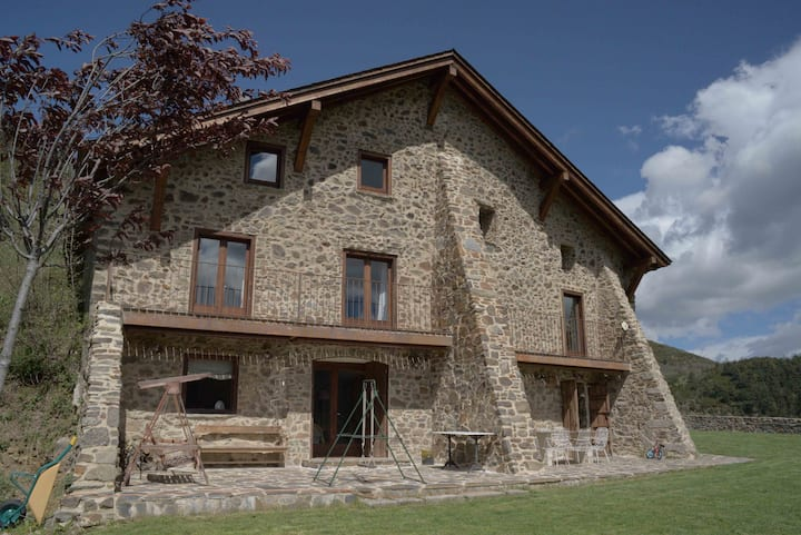 Casa rural aislada Pirineo Catalán-Dòrria