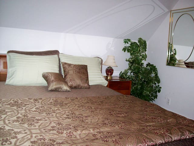 The MASTER BEDROOM - Peaceful, Restful, Like the Rest of My Property.