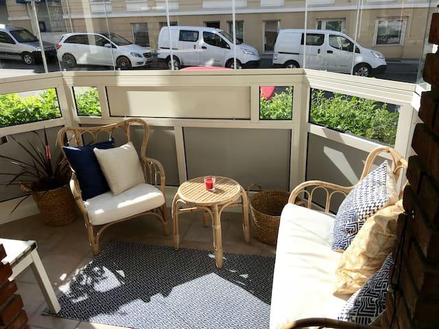 Nyoppusset leilighet på St.Hanshaugen