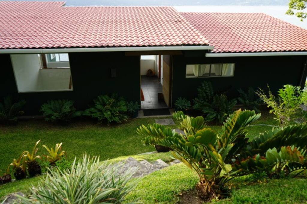 Island House Entrance