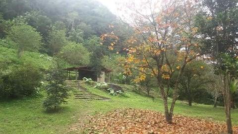 Toca da Serra Acampamento na Floresta