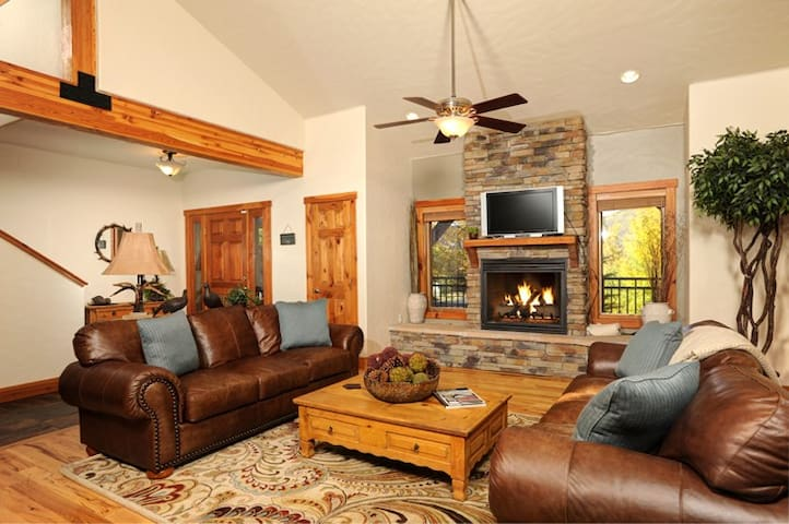 Private Luxury ~ Hot Tub, Pool Table,Theater, Secluded in Aspens