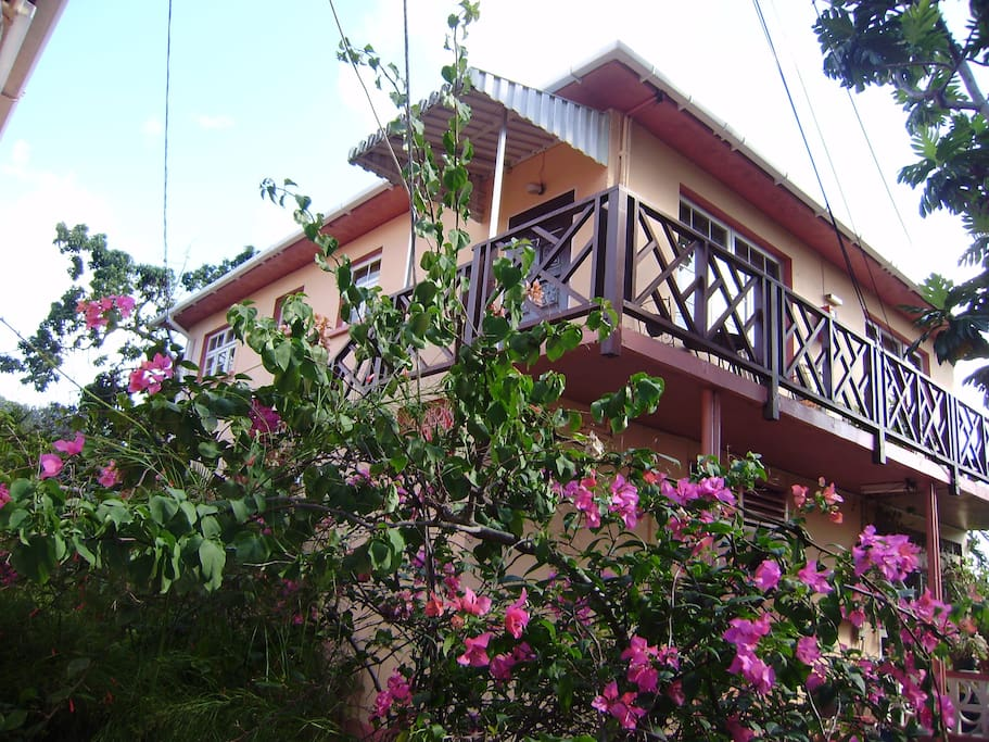 Two storey building with 2 one-bedroom units