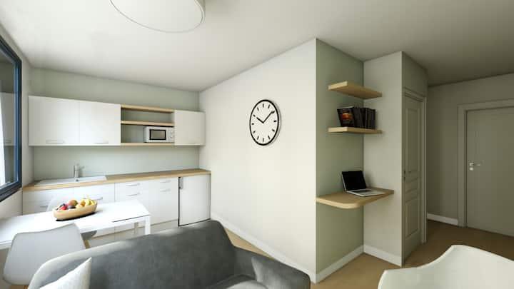 Residence 7éme Art - Hyper Centre - Appart T2 cosy
