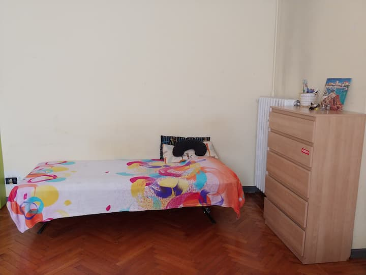 a comfortable bed close to city centre
