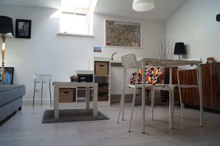 Small studio apartment, city center