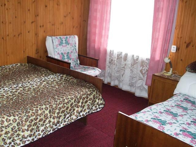 Комната в гостевом доме рядом с сосновым бором