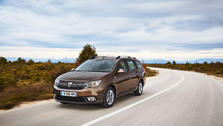 Dacia Logan 2020 - Sleep in the back