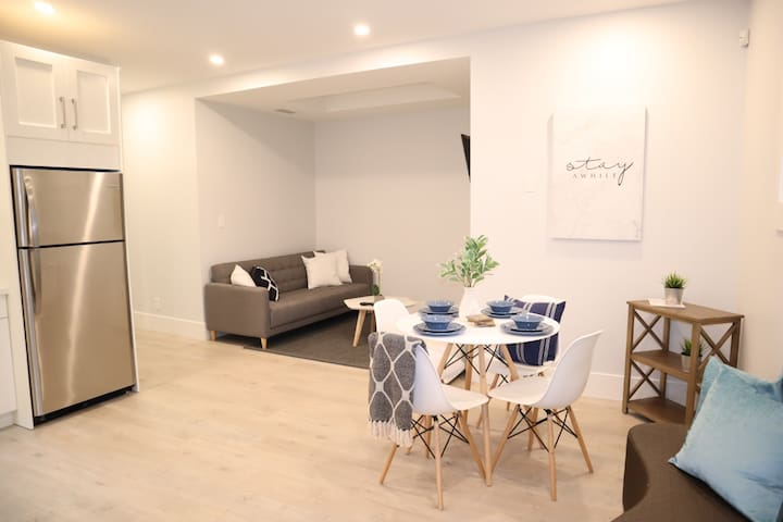 NEW! North Burnaby 2 BDRM Private Basement Suite!!