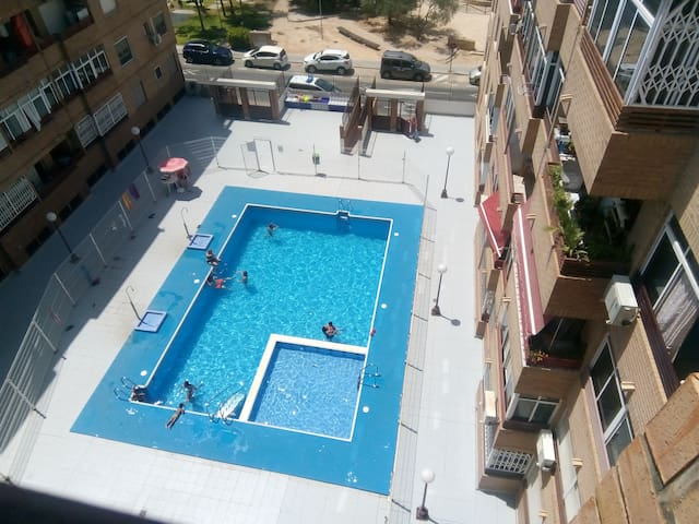 central apartment for rent in Torrevieja