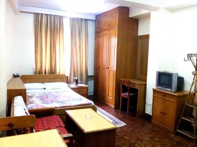Single bed studio Apartment units