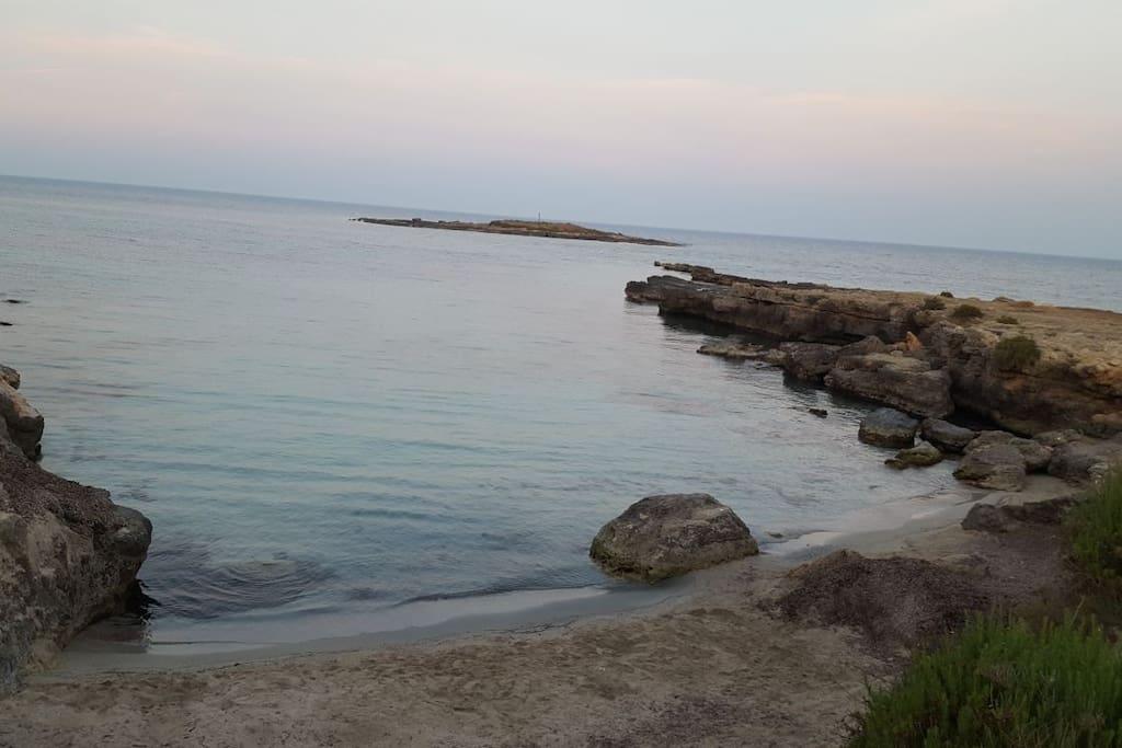 Spiaggetta ognina a  100 metri